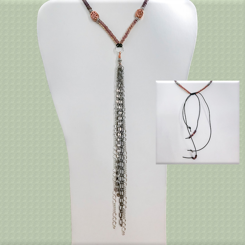 Make and Take Session: Chaining on a Fringe Necklace
