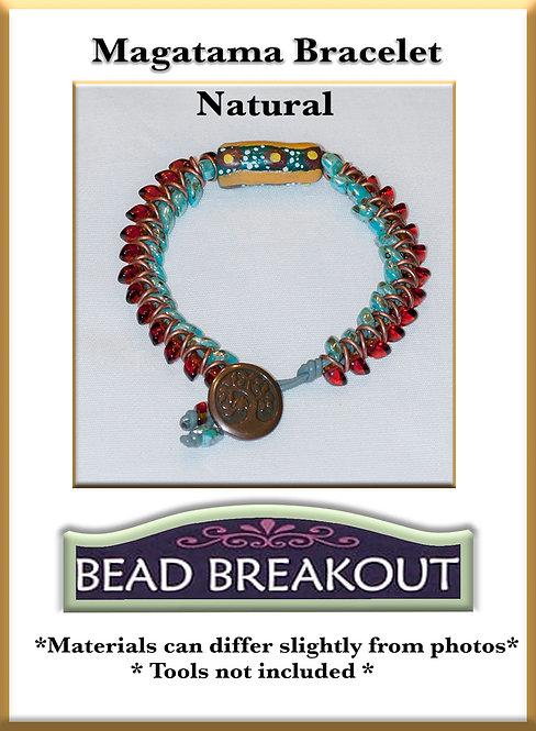 Magatama Bracelet/Natural
