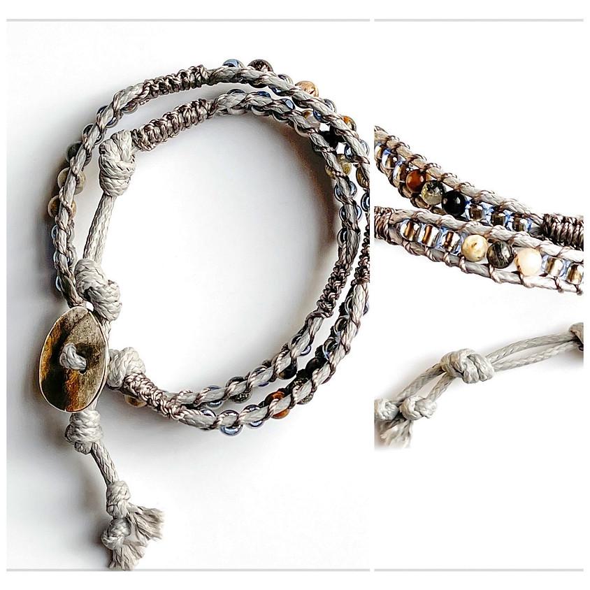 Silver Lake Wrap Bracelet