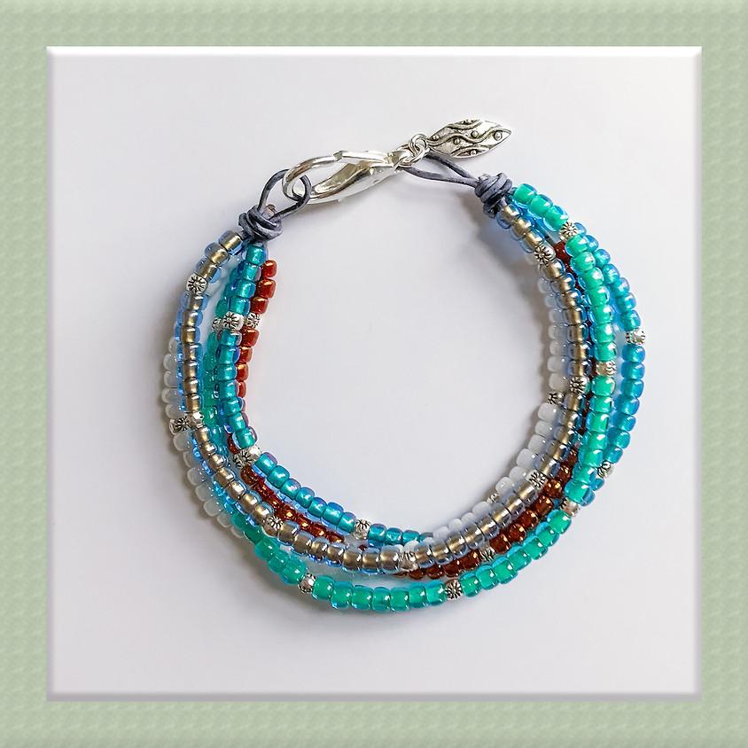 Make and Take Session: Ocean Floor Boho Bracelet
