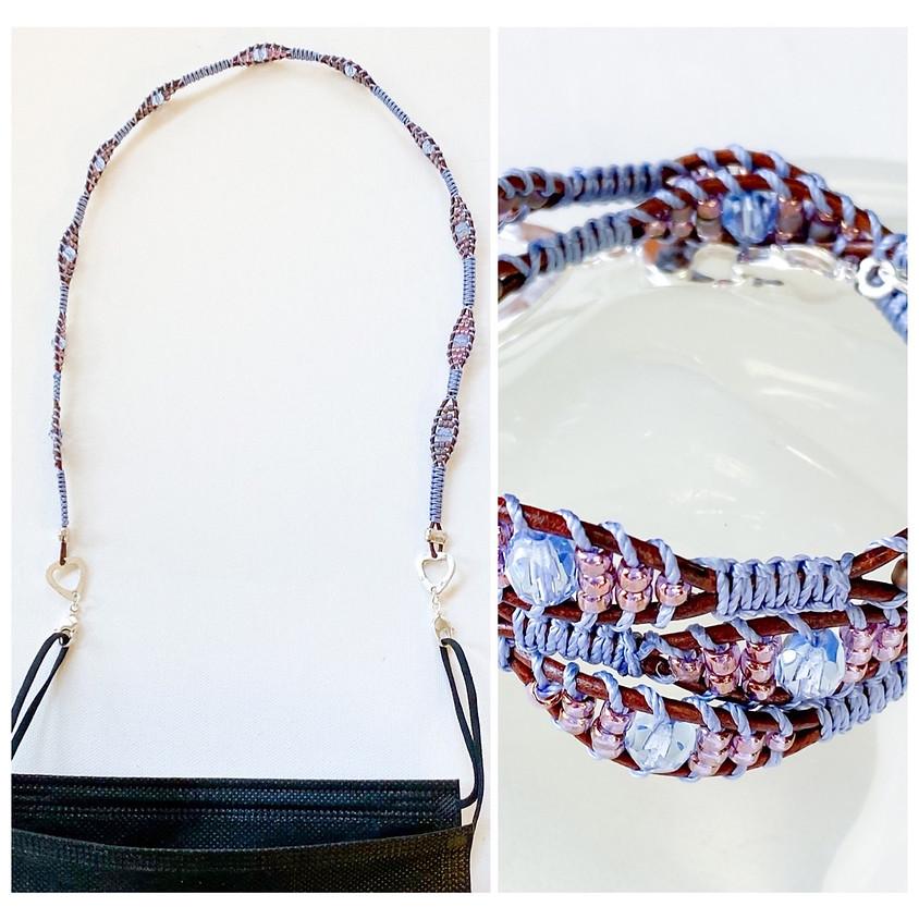 Chameleon Mask Holder/ Bracelet (In House)
