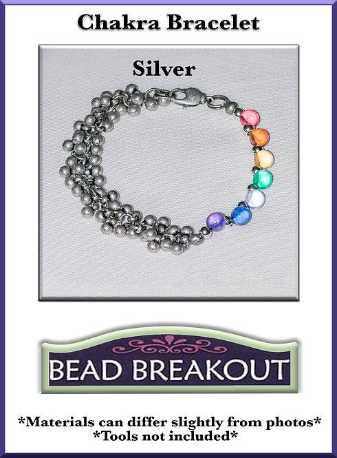 Chakra Bracelet/ Silver