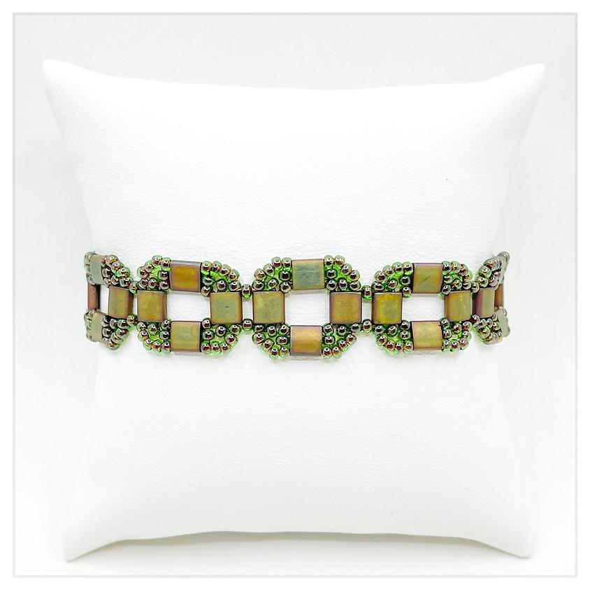 Squared Tila Bracelet