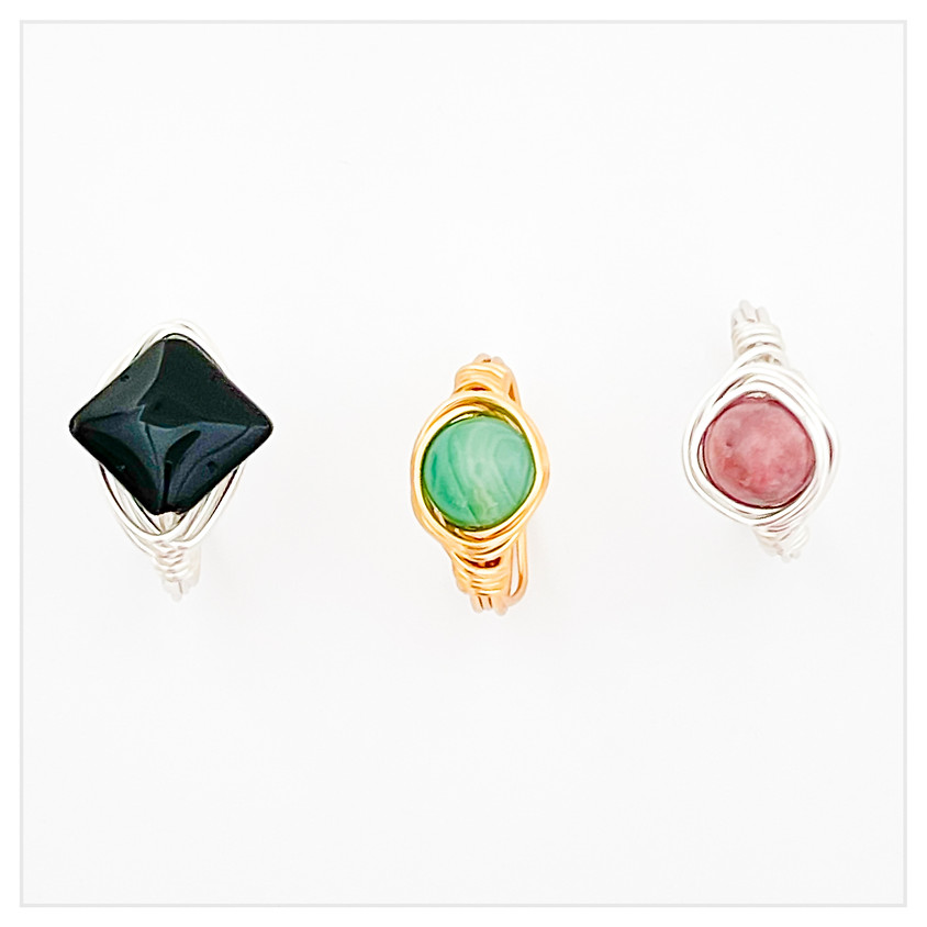 Wrapped Gemstone Ring Boot Camp!