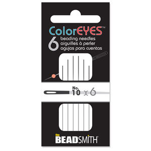 Beading Needle Black #10  (ColorEyes)