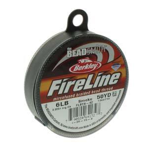 Fireline Smoke Grey 6lb .006 in/.15 mm dia, 50 yrd