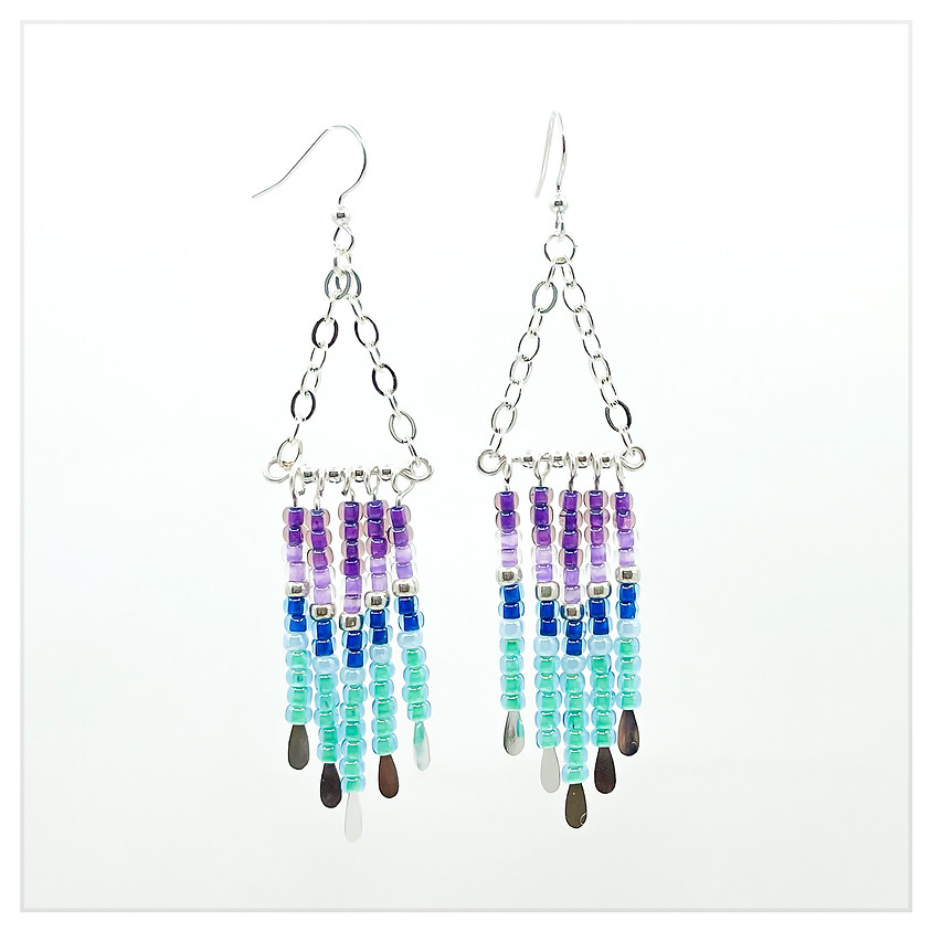 Summer Ombre Earrings in a Flash Boot Camp