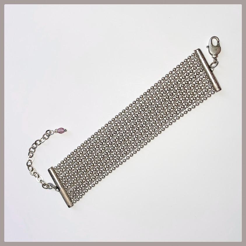Bead n' Chain Bracelet (Zoom)