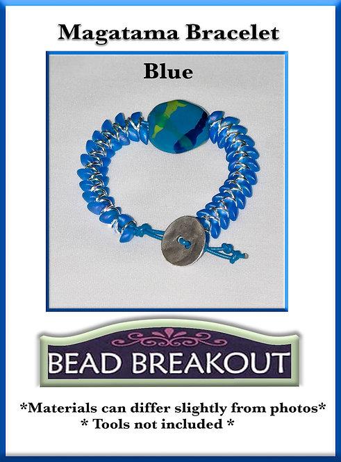 Magatama Bracelet/Blue