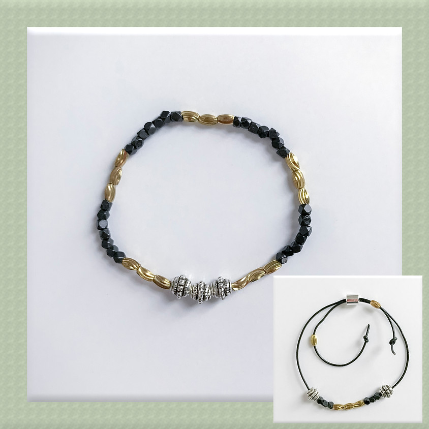 Make and Take Session: Loopy Lou Mixed Metal Bracelets