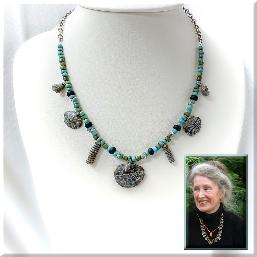 Beading and Fossils with Dr. Wende Logan-Young (1)