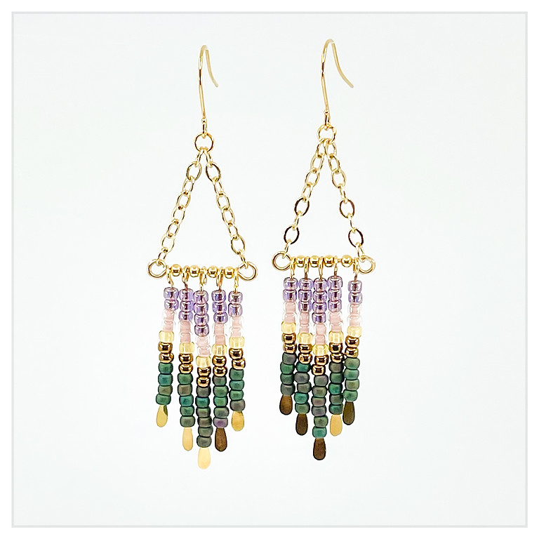 Fall Ombre Earrings in a Flash Boot Camp
