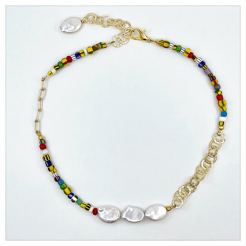 Mix and Mingle Summer Necklace (In House)