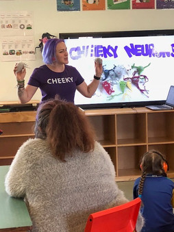 Introducing Nix & Nellie at Darling Point Special School