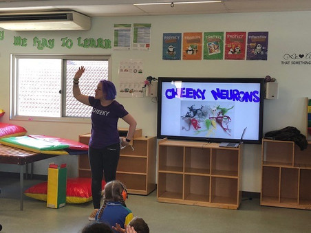 'Hands up if YOU have a brain' at Darling Point Special School