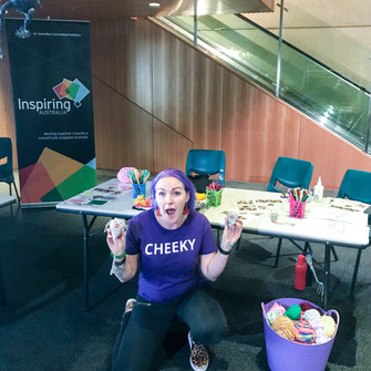 EXCITED to get cheeky at Queensland Museum