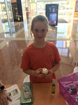 Creating cheeky neurons at Noosa Civic Shopping Centre