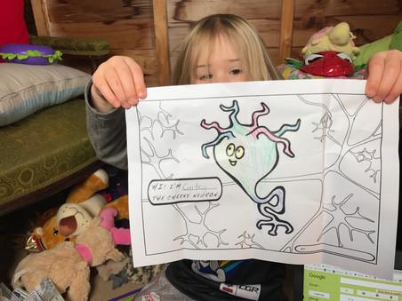 Curley the Cheeky Neuron