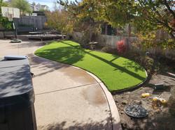 AFTER - backyard