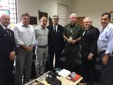 GENERAL DE EXÉRCITO LOURIVAL CARVALHO SILVA RECEBE MEDALHA DA AMLMS