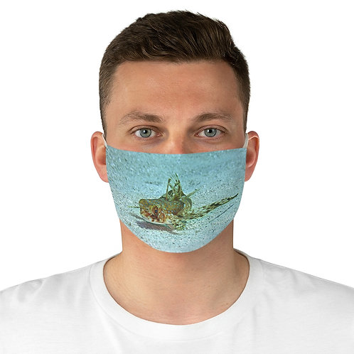 Flying Gurnard Fabric Face Mask