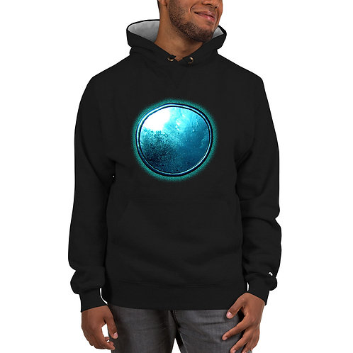 Put Bubble Ring On It - Champion Hoodie