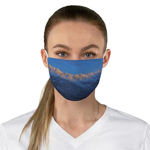 Nordkette Sunrise Fabric Face Mask