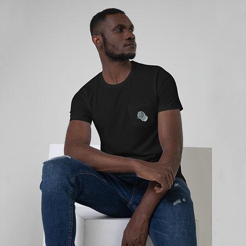 BUBBLE RINGS Unisex Pocket T-Shirt