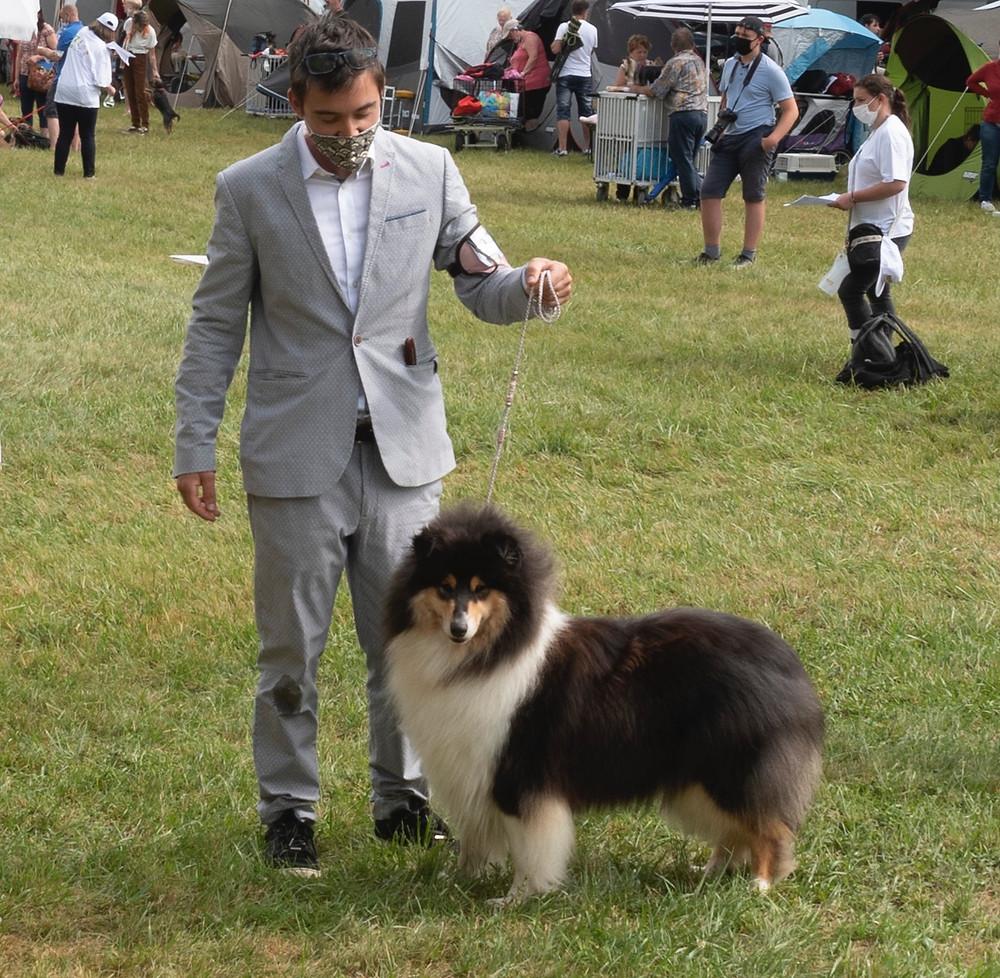 Exposición canina Dijon 2021