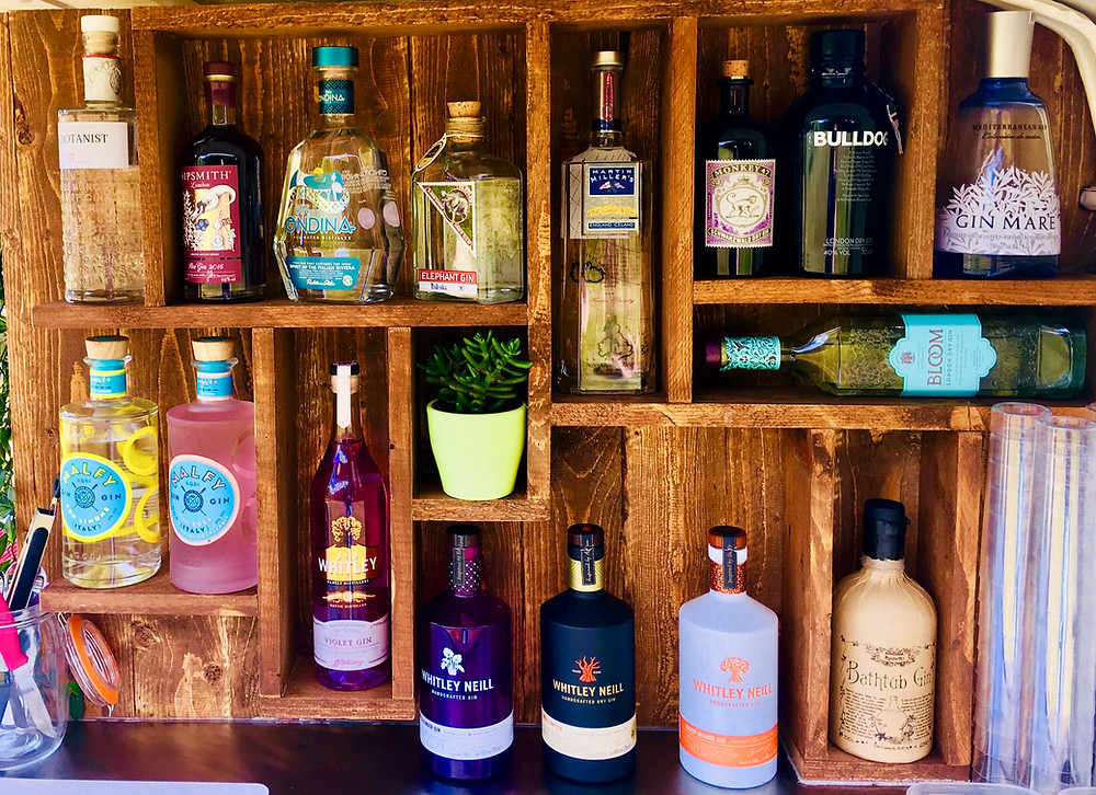 Our summer 2018 gin collection