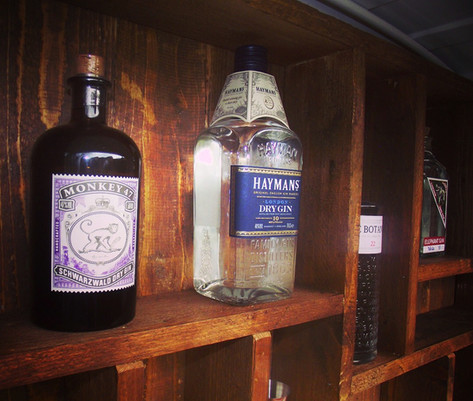 A selection of our finest gins