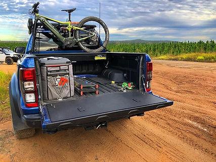 Ford Ranger Tailgate Storage Huracan Fabrication