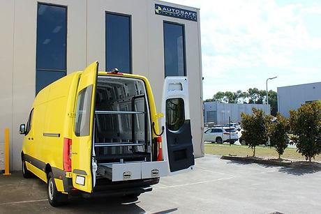AutoSafe Van Drawer Units