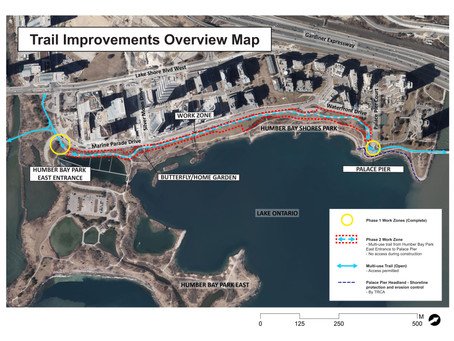 Humber Bay Shores Park - Trail Improvements, Phase 2