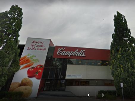 Campbell's Company of Canada Etobicoke Closure Statement