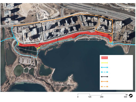 Waterfront Trail - Detour Routing and Access Points