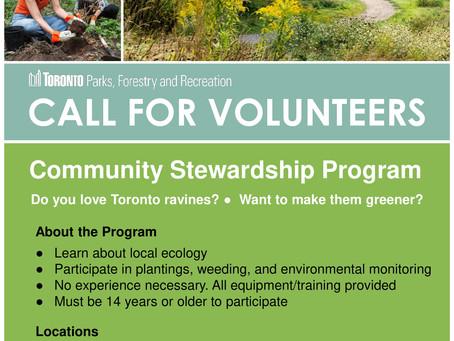 Community Stewardship Program