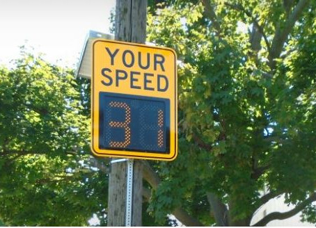 "Mobile ""Watch Your Speed"" Program"