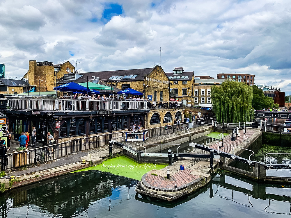 Camden town, Camden market , Regent's canal, boating in Camden, food in Camden, nightlife in Camden, live music in Camden