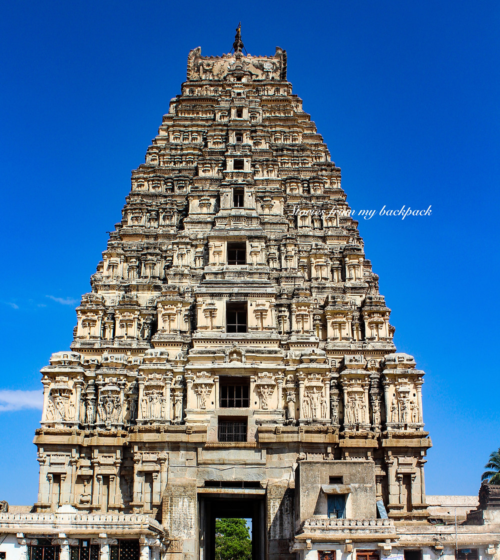 Virupaksha temple hampi, musical pillars of Hampi, best temples in Hampi, Hampi tour, things to do in Hampi, Vijaya Vittala temple Hampi