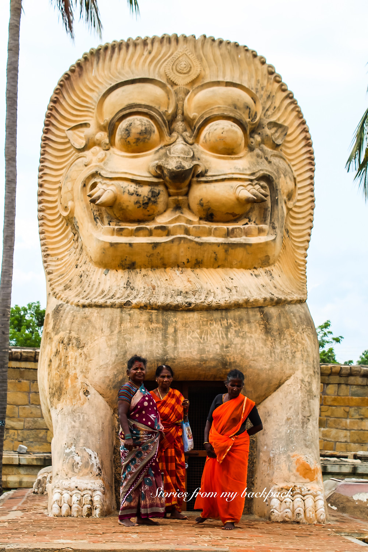 brihadeeswara temple, thanjavur temple, thanjavur things to do, thanjavur paintings, thanjavur shopping,narasimha statue