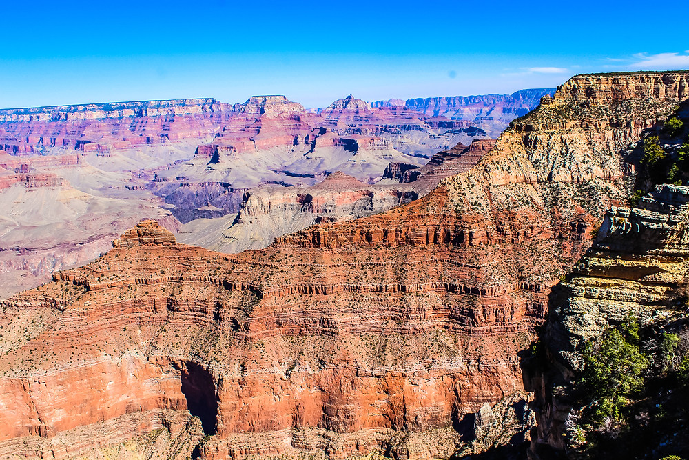 Yavappai view point, South rim tours, how to get to the Grand Canyon, Colorado river, helicopter tours of Grand Canyon