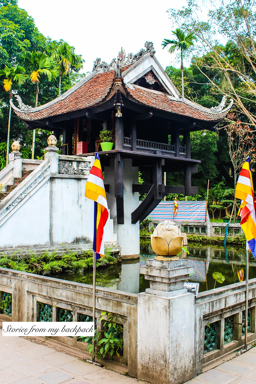 One Pillar pagoda, religious spots in Hanoi, must visit in Hanoi, best things to do in Hanoi, Vietnam tourism