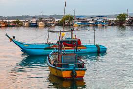 Fishing Boats, Mirissa