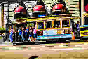 Cable cars in San Francisco, cable car history, cable car route, cable car timings