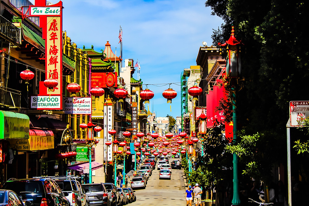 Largest chinatown outside Asia, chinatown shopping, Chinese restaurants, Chinese food