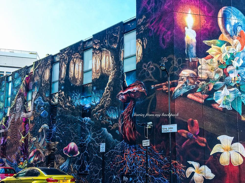 Shoreditch, Brick Lane, Street art London, most beautiful streets in London