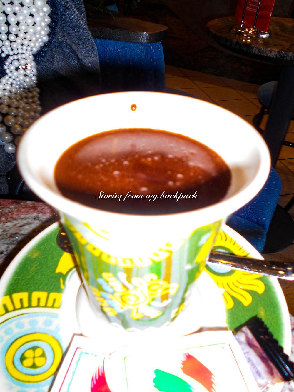 hot chocolate, best food in Germany, best restaurants in Dusseldorf, where to eat in Dusseldorf