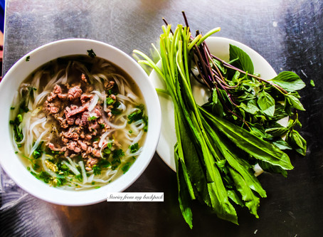 A food guide to Vietnam!