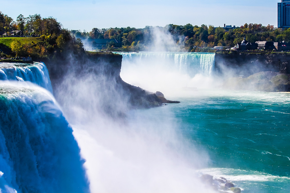 Niagara Falls, New York waterfalls, natural wonder USA, US national park, things to do in Niagara Falls